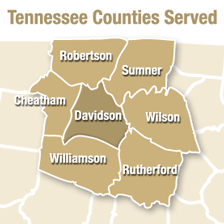 Tennessee Counties Served